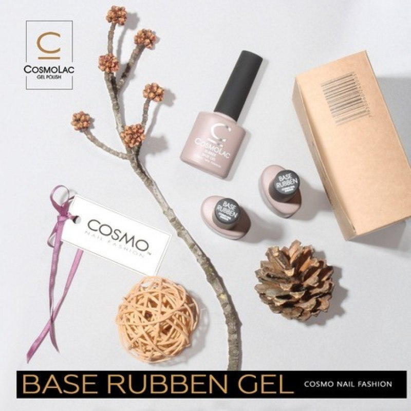 CosmoLac Rubber Base Gel (базовое покрытие)7,5мл.