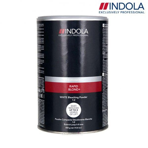Порошок обесцвечивающий белый – Indola Rapid Blond White 450 гр.