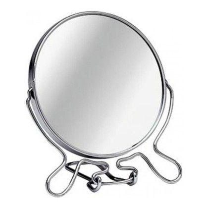 Зеркало настольное двухстороннее с увеличением в ассортименте