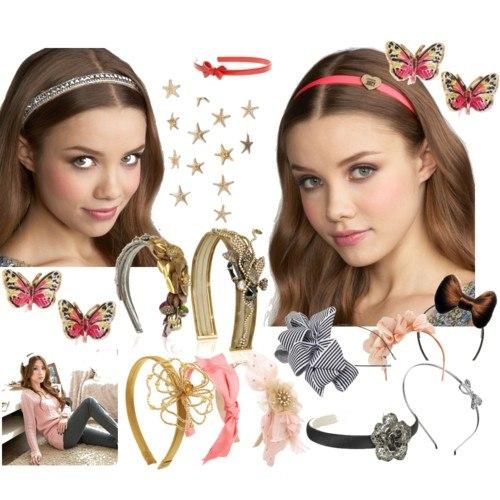 Аксессуары для волос( резинки,заколки,повязки,обручи)