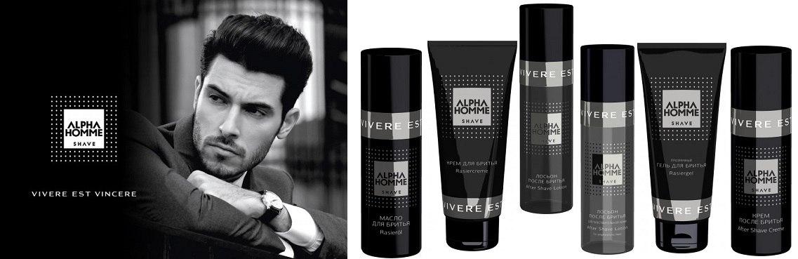Шампунь мужской тонизирующий для волос и тела с охлаждающим эффектом Estel Otium Alpha Homme